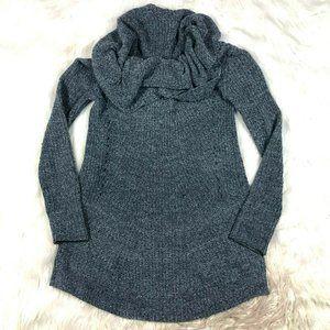 Anthro MOTH Cowl Neck Tunic Sweater